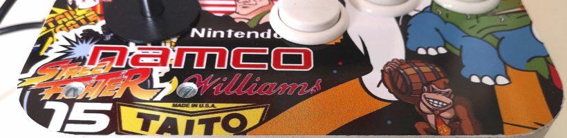 JOYSTICK ARCADE – Versión 2 – Monta tú maquina arcade