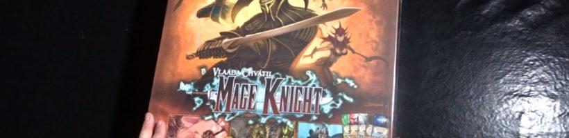 Unboxing Mage Knight Edición Definitiva