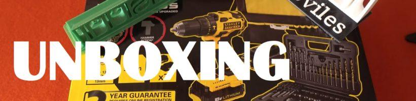 UNBOXING – STANLEY FATMAX FMC627D2SA-QW