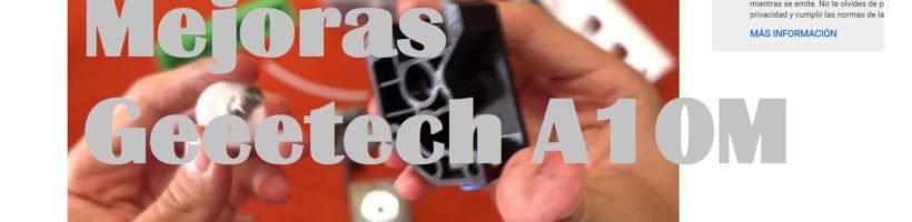 Geeetecht A10M – Cambio de un extrusor por un BMG Cloned Btech