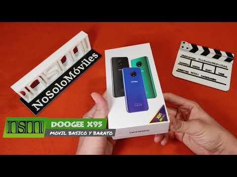 DOOGEE X95 – Unboxing y primer vistazo