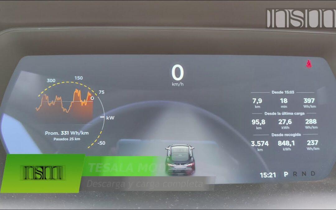 TESLA MODEL S – ¿Cuánta batería tiene mi ModelS 85D despues de 5 años y 150.000 km?